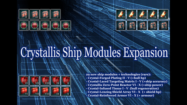 Crystallis Ship Modules Expansion Mod
