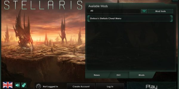 Slvrbuu's Stellaris Cheat Menu 2