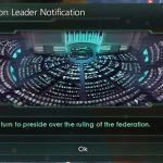 Federation Leader Notification Mod for Stellaris