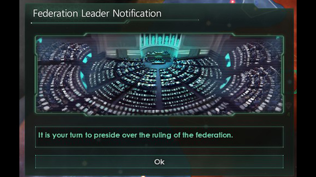Federation Leader Notification Mod