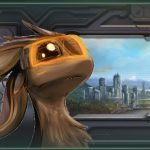 Avali Portraits Mod for Stellaris