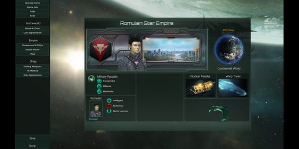 Romulan Ships and Portraits Mod